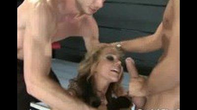 Double the Punishment for Wrestling Slut Nikki Sexx