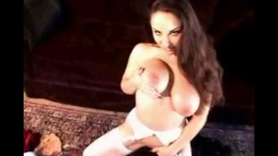 Big tits Nylons