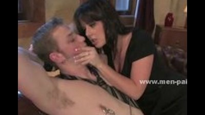 Man tricked by delicious babe gets tied