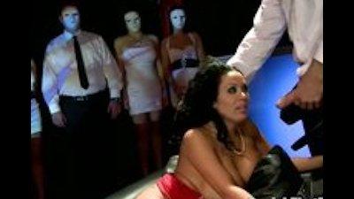 MILF Sienna West in Bizarre Punishemnt Party Sucking