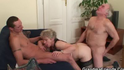 Hot threesome after pussy mast