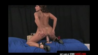 MILF Sucks on a Dildo