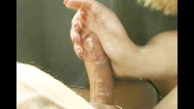 Naturally Sexy Blonde Handjob