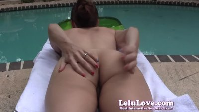 Lelu LoveOutdoors Sunbathing Asshole Puckering