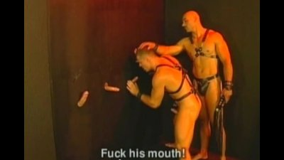 Muscle Leather Glory Hole