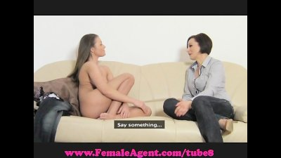 FemaleAgent. All natural busty beauty