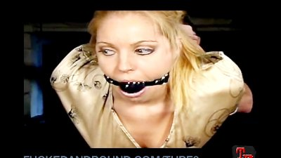 Hollie Stevens Tied Up and Fucked Hard