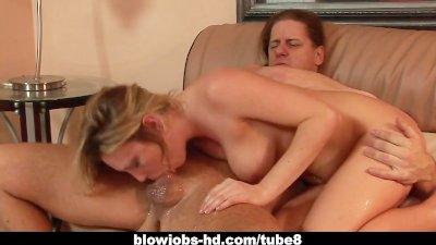 Best Cock Sucking Whore Harmony Rose Sloppy Blowjob