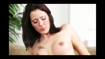 Big Tits MILF Squirts All Over A Young Studs Cock