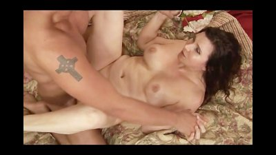 Sexy MILF Fucked By a Young Guy With Big Muscles