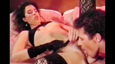 Girl in black lingerie pussy fuck