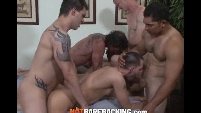 Another Bareback Orgy 3