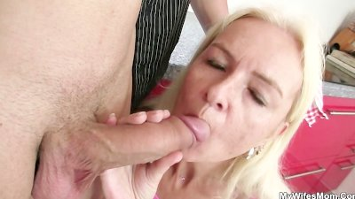 He fucks mother in law right a