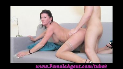 FemaleAgent. Natural talent