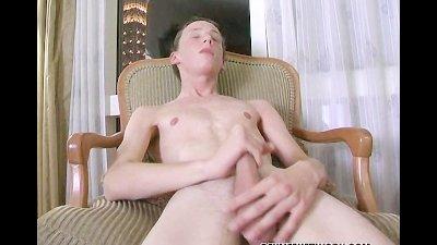 Irish Boy Jerks His Cock