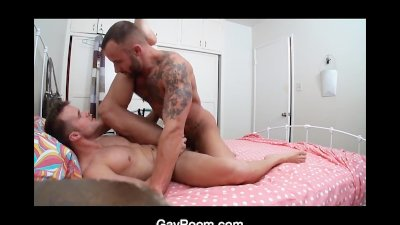 GayRoom Hot Cock Gets Taken Deep in the Ass