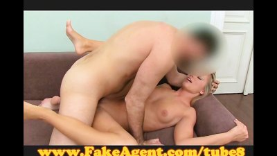 FakeAgent 18 yo with tight ass pussy