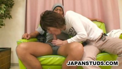 Handsome Nippon Guys Pleasing Each Others Oriental Cocks