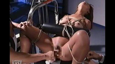 Uncensored Japanese Erotic Fetish Sex Gym Bondage 17 Pt 2