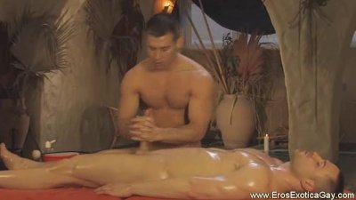 Gay Genital Oil Massage