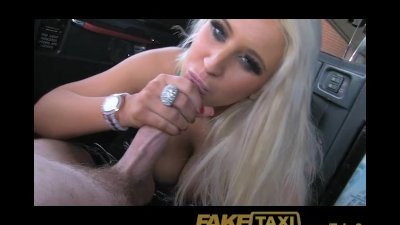 FakeTaxi Adult tv star seduces