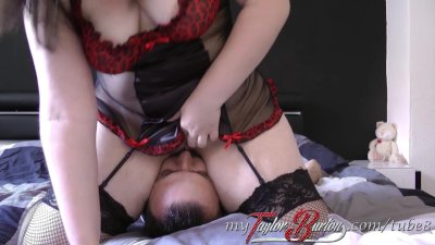 BBW Taylor-Burton – Blowjob und Facesitting