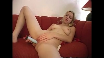 Sexy Candace is using some serious sex toys