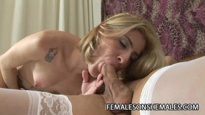 Isabelly Ferraz - Big Cock Shemale Plowing A Tight Wet Pussy