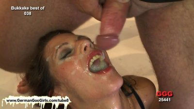 Wow she is a real jizz lover