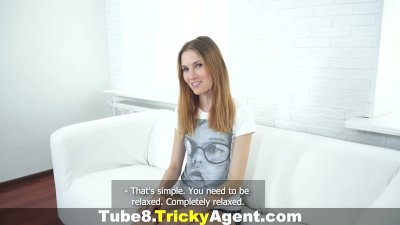 Tricky Agent - Fucked on cam for the first time