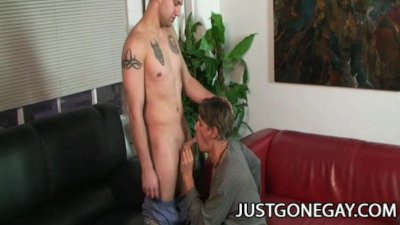 Mark Galftone And Chad Brooks - Hard Cock Action With Handsome DILF