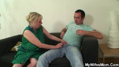 I just fucked my mom in law but wife finds us