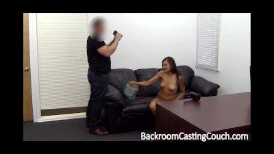 Tall Model Assfucked on Castin