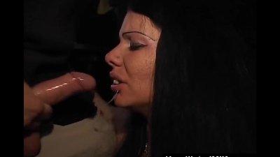 Sex Shop Glory Hole With Slutty Milf