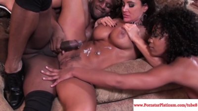 Lisa Ann and Misty Stone love