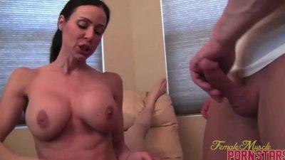 Kendra Lust Rides a Dildo and Sucks Cock!
