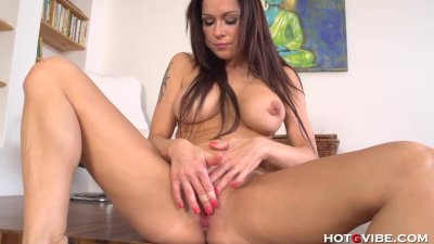 Sexy Euro Babe, Stacy Silver's, Many Orgasms