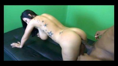 Big Tit White Slut Takes Huge