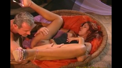Latina gets joystick in asshole and gives strong blowjob