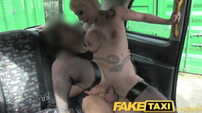 Blowjob Camera Deepthroat video: FakeTaxi Spanish Blonde with huge tits