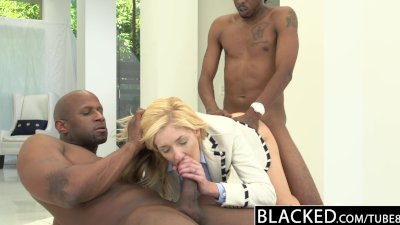 BLACKED 2 Big Black Dicks for
