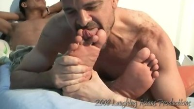 Jerome's Foot Worship - Mike and Jerome