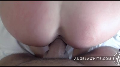 Angela White - Huge Facial POV