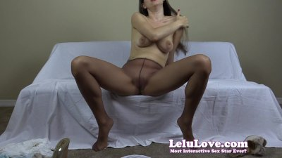 Lelu Love-Secretary Interview Pantyhose Striptease