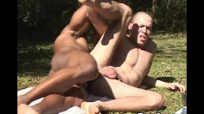Steamy Anal Fuck With Massive Muscled Men