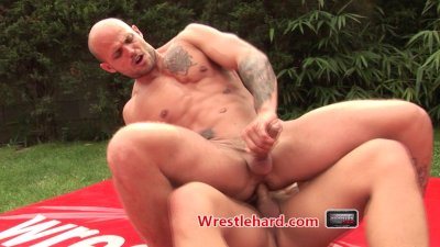 Wrestlehard gay wrestling str8 macho punishment