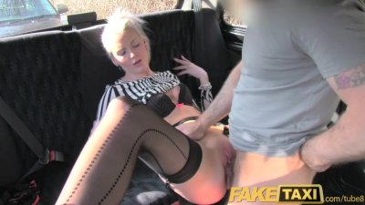 FakeTaxi Posh blonde has sex t