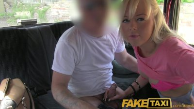 FakeTaxi Pretty blonde british
