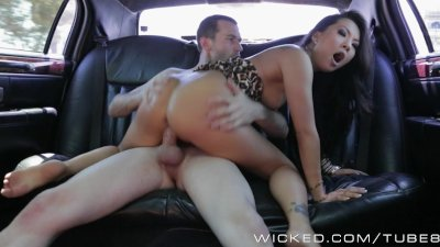 Wicked - Backseat anal with Asa Akira
