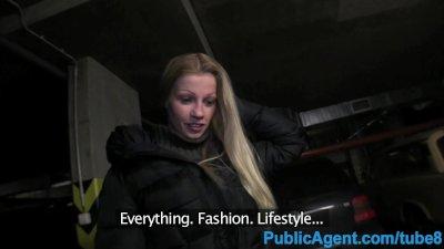 PublicAgent Hot Blonde Big tit